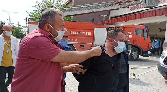 Gözaltına alınan sağlık personeli tatbikatın önüne geçti