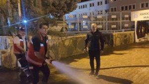 Hakkari'de cadde ve sokaklar yıkandı
