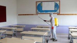Havza'da okullara YKS dezenfeksiyonu