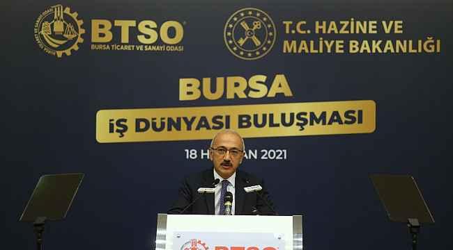 """Bakan Lütfi Elvan: """"Enflasyonla mücadele tüm politikalarımızın merkezinde yer alıyor"""" - Bursa Haberleri"""