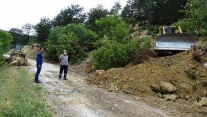 Hisarcık'ta altyapı çalışmaları