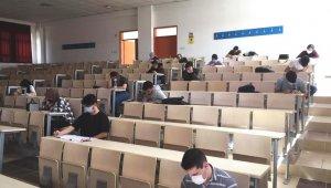 Hisarcık'ta üniversite sınavına hazırlık simülasyonu yapıldı