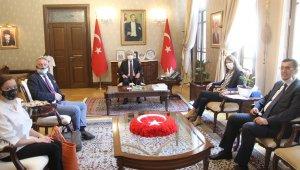 Hollanda-Suriye Özel Temsilcisi Büyükelçi Emiel De Bont Hatay'da