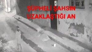 İkametten hırsızlık anları güvenlik kamerasında
