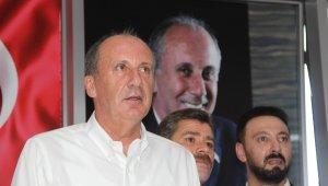 """İnce'den CHP'ye sert eleştiri: """"Zavallı muhalefet, trilyonlarca lira hazine yardımı alıyorsunuz yaptığınız bir numara yok"""""""