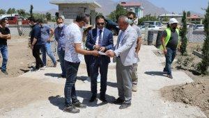 İpekyolu Belediyesi ilçeye yeni parklar kazandırmaya devam ediyor