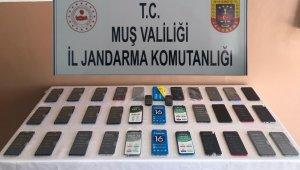 Jandarmadan kaçak cep telefonu operasyonu