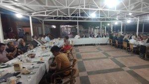 Kahta'da tayini çıkan hakim ve savcılara veda gecesi düzenlendi