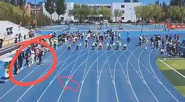 Kameramanın hızı, sıradan bir yarışmaya damga vurdu