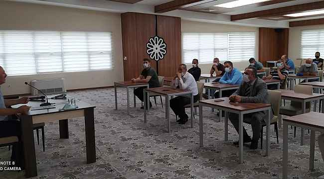 Kayseri Yurt Müdürlüğü'ne eğitim verildi
