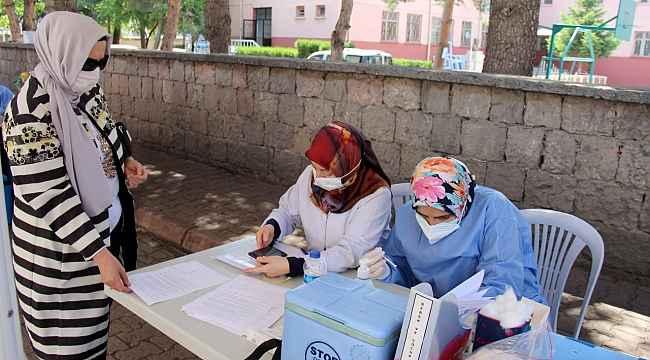 Kayseri'de aşıda yeni rekor: 27 bin 748