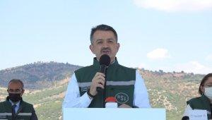 Kilis'in 2050 yılına kadarki su ihtiyacını sağlayacak olan baraj hizmete açıldı