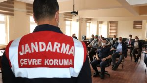 Kırıkkale'de jandarmadan vatandaşlara 'yaban hayatı' eğitimi