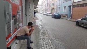 Kırklareli'nde aniden bastıran yağmur hayatı olumsuz etkiledi