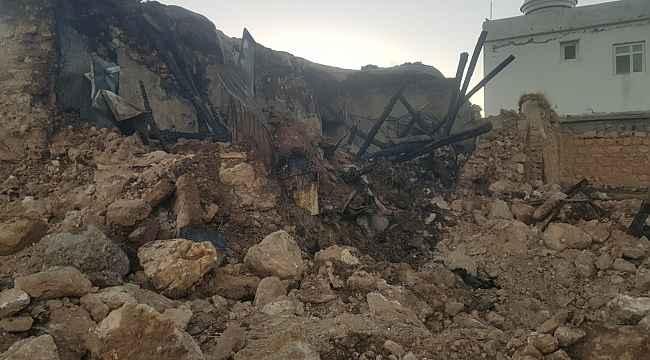 Kocaköy'de çıkan yangında 1 kişi hayatını kaybetti