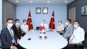 Mardin Valisi Demirtaş, muhtarlarla görüşmelerini sürdürüyor