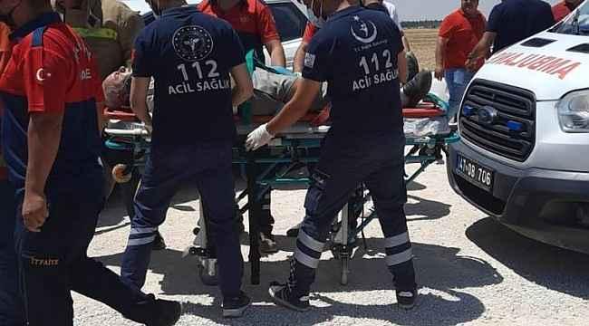 Mardin'de iki araç kafa kafaya çarpıştı: 4 yaralı