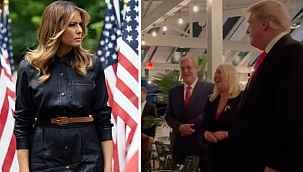 Melania, Trump'ın doğum günü partisine katılmadı