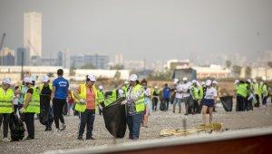 Mersin'de sahil temizliği yapıldı