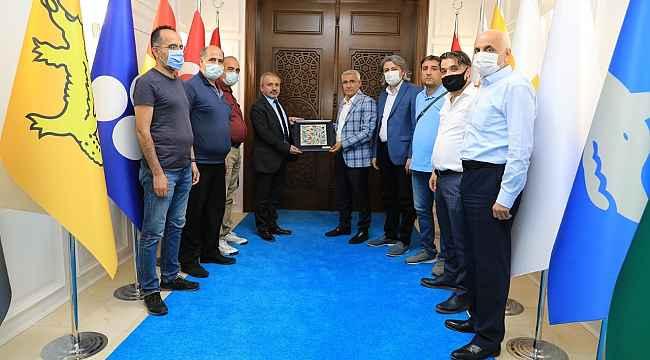 MGC'den Başkan Güder'e istişare ziyareti