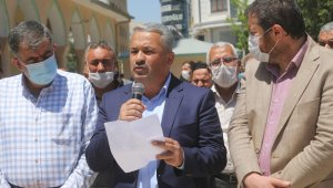 Mısır'da darbe karşıtlarının idam edilmesi Van'da protesto edildi