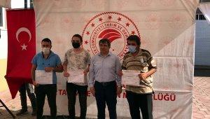 Mudanyalı arıcılar sertifikalarını aldı - Bursa Haberleri