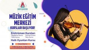 Nevşehir Belediyesi müzik eğitim merkezinde yaz dönemi kursları başlıyor