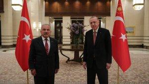OBB Başkanı Hilmi Güler, Cumhurbaşkanı Erdoğan ile görüştü