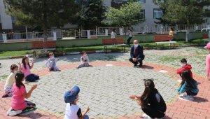 Okullarda telafi eğitimi öncesi etkinlikler başladı