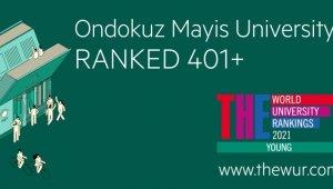 OMÜ, Times Higher Education Sıralamasında