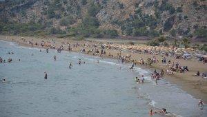 Ortaca'da sahiller hareketlendi