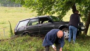 Otomobil şarampole yuvarlandı: 5 yaralı - Bursa Haberleri