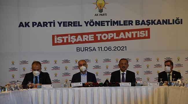 """Özhaseki: """"İstanbul ve Ankara belediyeleri algı ile yönetiliyor"""" - Bursa Haberleri"""