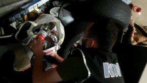Polisten Trabzon, Rize ve Giresun'da eş zamanlı sahte alkol operasyonu