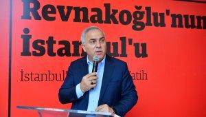 """Prof. Dr. Mustafa Koç'un """"Revnakoğlu'nun İstanbul'u-İstanbul'un İç Tarihi: Fatih"""" kitabı tanıtıldı"""