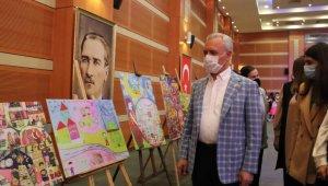 """""""Çocuk gözünden Ramazan"""" resim yarışmasında ödüller sahiplerini buldu"""