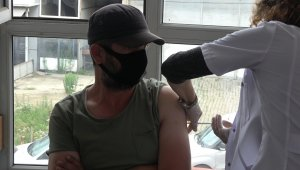 Rize'de sanayi esnafı bugün aşılarını olmaya başladı