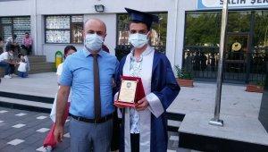 Salih Şeremet Ortaokulu ilk mezunlarını verdi - Bursa Haberleri