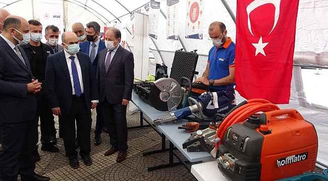 Samsun'da 800 bin kişiye afet eğitimi verilecek