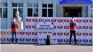 Samsun'da kaçak makaron operasyonu: 33 gözaltı