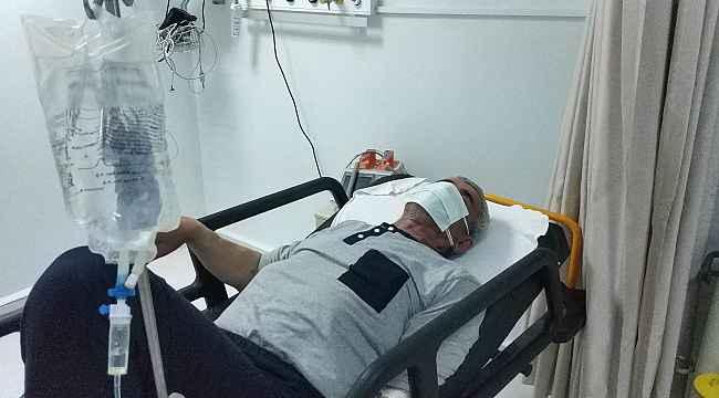 Samsun'da kenenin ısırdığı çiftçi hastanelik oldu