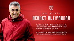 Samsunspor teknik direktörlüğe Mehmet Altıparmak'ı getirdi