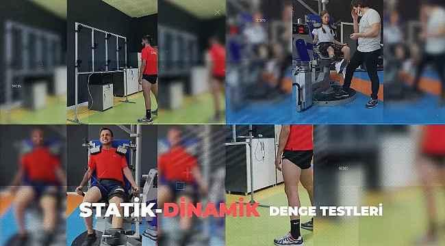 Short Track Olimpik milli takımı sezon başı performans testinde
