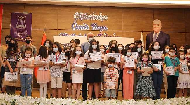 Sıfır Atık Projesi yarışmasında dereceye girenler ödüllendirildi
