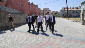 Siirt Valisi Hacıbektaşoğlu kentte yapılan çalışmaları denetledi