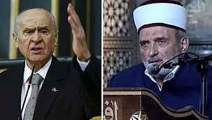 """Son günlerde gündeme getirilen imama Bahçeli'den sert tepki: ^""""Provokasyondur, araştırılmalı"""""""