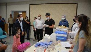Tatvan Belediyesi personeline korona virüs aşısı yapıldı
