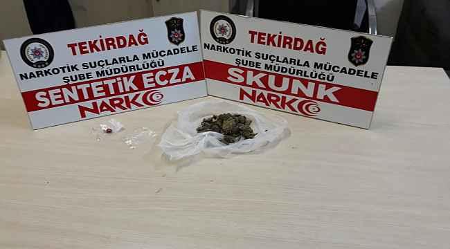 Tekirdağ'ın 3 ilçesinde uyuşturucu operasyonu: 4 gözaltı