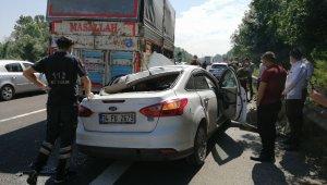 TEM Otoyolu'nda iki ayrı kazada 2 kişi öldü