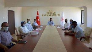 Tercan'da Kadına Yönelik Şiddetle Mücadele Koordinasyon, İzleme ve Değerlendirme toplantısı yapıldı